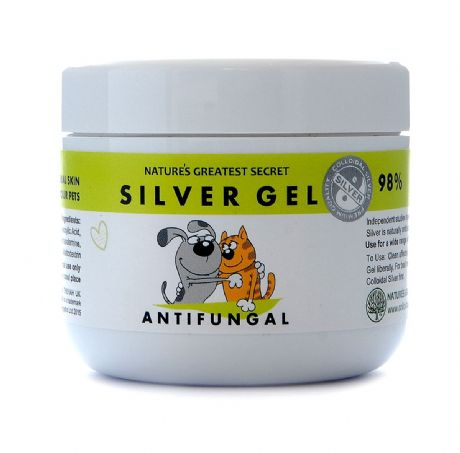 COLLOIDAL SILVER FOR PETS ANTIFUNGAL GEL 100MLS